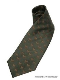 Hunting Dog Tie