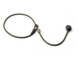 Short leash 6mm - 65 cm khaki