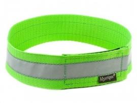 Halsband reflecterend - neon groen