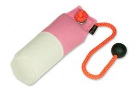 Long-Throw dummy 250g roze/wit