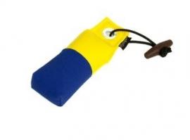 Pocket dummy 85g geel/blauw