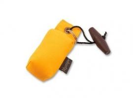 Sleutelhanger dummy geel