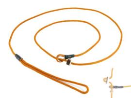 Moxon 4 mm - 130 cm met geweistop - oranje