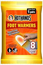 Hothands Foot Warmer - voordeelpak 5 paar