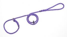 Jachtlijn deluxe touw 8mm - 150 cm violet