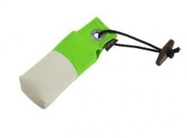 Pocket dummy 85g neon groen/wit
