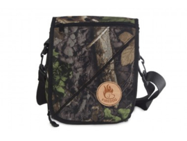 Firedog Messenger Bag - woodland camo