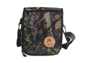 Firedog Messenger Bag - woodland camo