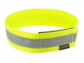 Halsband reflecterend - neon geel