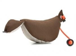 Bird Dog Dummy 200 g bruin/beige