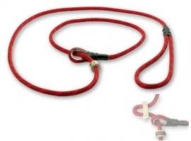Field trial moxon lijn 6mm - 150cm met geweistop rood/zwart