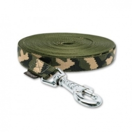 Lange lijn nylon 10 m - 25 mm camo