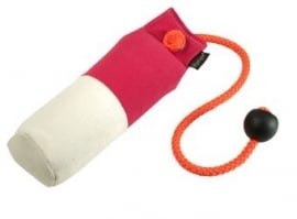 Long-Throw dummy 250g hot pink/wit