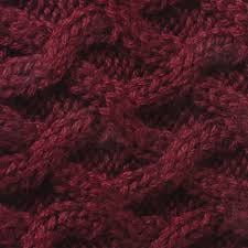 House of Cheviot - Rannoch + garter - Burgundy