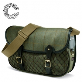 Tweed Game Bag Helmsley bij Croots