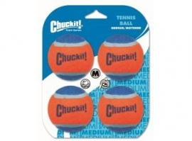 Chuckit! Tennis Balls - medium 4 stuks