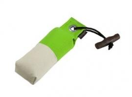 Pocket dummy 150g neon groen/wit