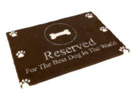 Vetbed Non-Slip 'Reserved for the Best Dog in the World' - 100 x 75