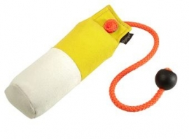 Long-Throw dummy 250g geel/wit