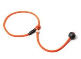 Short leash 6mm - 65 cm neon oranje