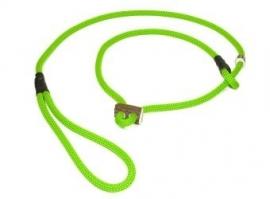 Field trial moxon lijn 8 mm - 130 cm met geweistop neon groen