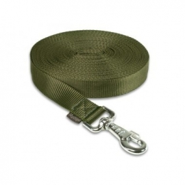 Lange lijn nylon 10 m - 25 mm khaki