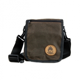 Firedog Messenger Bag  - wax