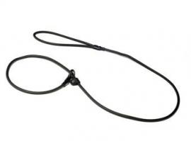 Biothane moxon lijn 8mm - 150cm - zwart