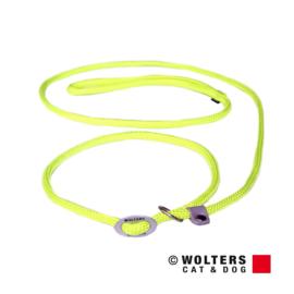 Wolters moxonlijn 9 mm - 180 cm - neon geel