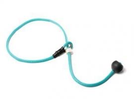 Short leash 6mm - 65 cm turquoise