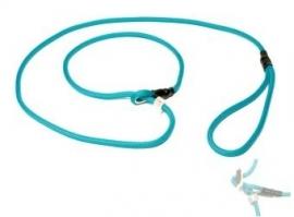 Field trial moxon lijn 6mm - 130cm met geweistop turquoise
