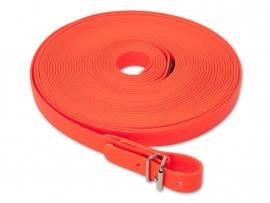 Biothane Zweetlijn 19 mm oranje 10 meter