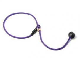 Short leash 6mm - 65 cm lila