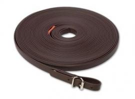 Biothane Zweetlijn 13 mm oranje 10 meter - bruin