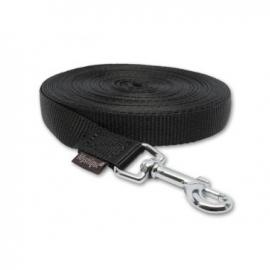 Lange lijn nylon 6 m - 25 mm zwart