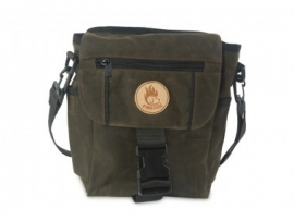 Firedog Mini Dummy bag - wax donker khaki