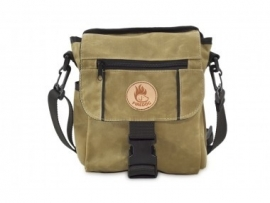 Firedog Mini Dummy bag - wax  licht khaki