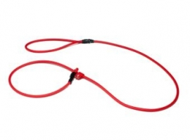 BioThane moxon 8mm - 130cm rood