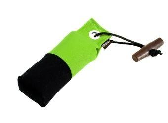 Pocket dummy 150g neon groen/zwart