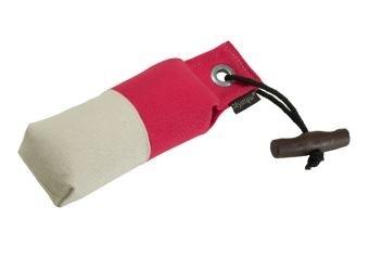 Pocket dummy 150g hot pink/wit