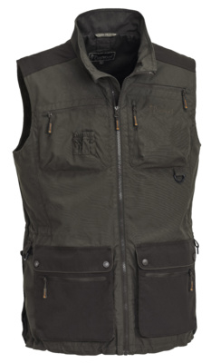 Pinewood Dogsport Vest - heren - dark olive/bruin - model 50810-186