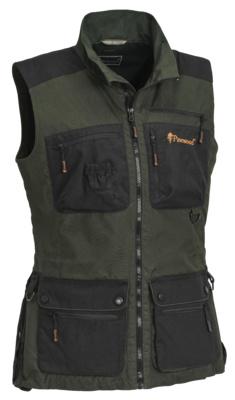 Pinewood Dogsport Vest - dames - Moss green/black - model 30810 - 153