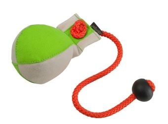 Dummy Ball neon groen/wit