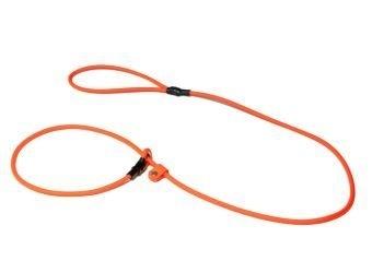 Biothane moxon lijn 8mm - 150cm - neon oranje
