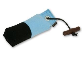 Pocket dummy 150g licht blauw/zwart