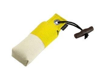 Pocket dummy 150g geel/wit