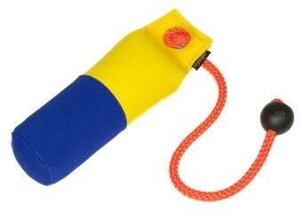 Long-Throw dummy 250g geel/blauw