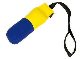 Speedy dummy 250g geel/blauw