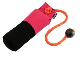 Long-Throw dummy 250g hot pink/zwart