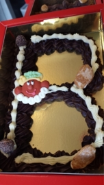 Chocoladeletter groot